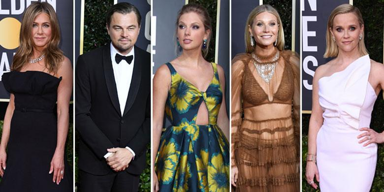 2020 Golden Globes Red Carpet Arrivals
