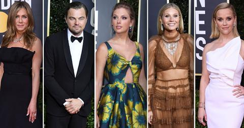2020 Golden Globes Red Carpet Arrivals