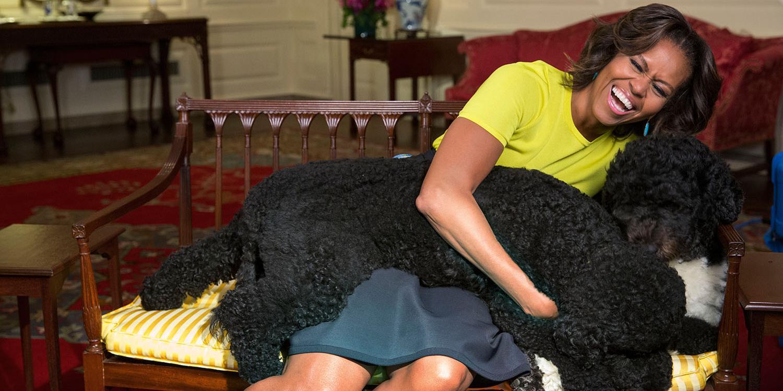 michelle barack obama heartbroken loss of family dog bo