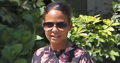 *EXCLUSIVE* Christina Milian shows off her love of Johnny Depp while out for a walk