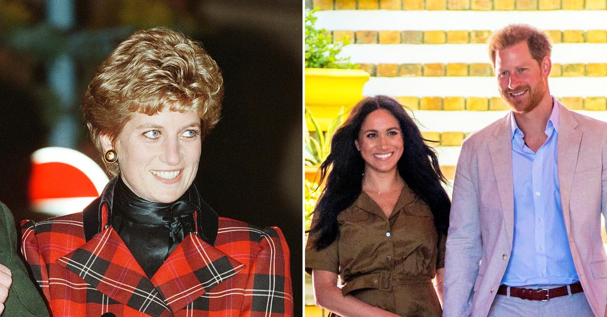 princess diana would have absolutely and unquestionably supported prince harry and meghan markles exit from the royal family
