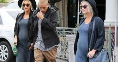Pregnant ashlee simpson evan ross matching outfits