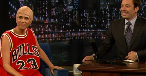 Kristen Wiig Michael Jordan Jimmy Fallon Video 1