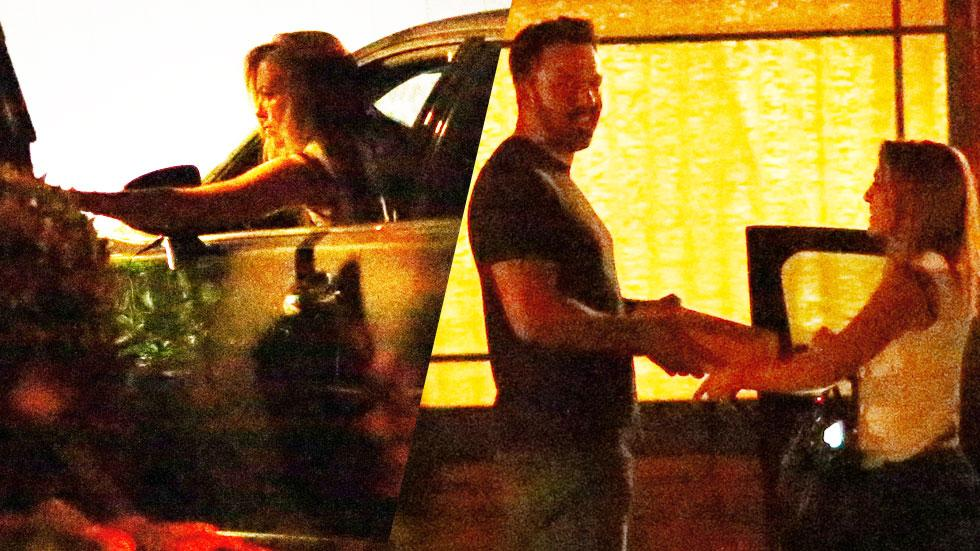 Ben affleck meets nanny christine ouzounian photos