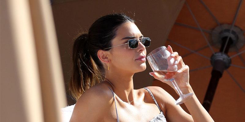 Kendall Jenner Suffers A Near Nip-Slip