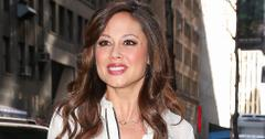 TV Personality Vanessa Lachey seen arriving at the 'Today' Show in New York City