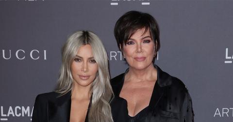 Kim Kardashian And Kris Jenner On Red Carpet