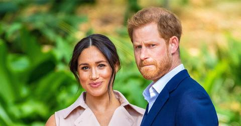 Meghan Markle and Prince Harry in South Africa.