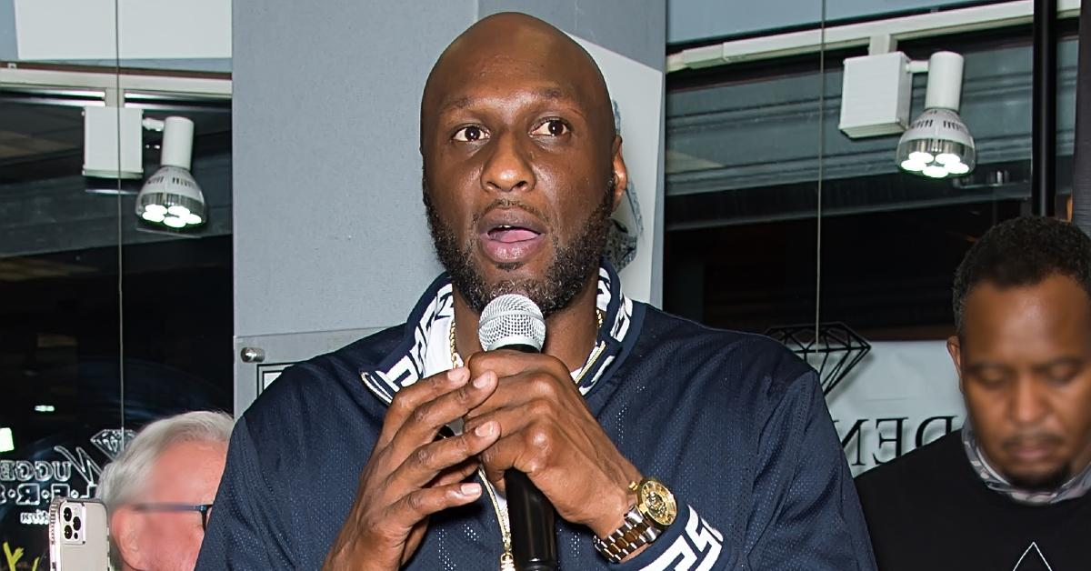 lamar odom stops paying child support pp
