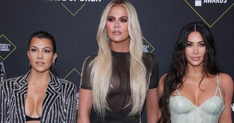 Kim Khloe And Kourtney Kardashian On Red Carpet