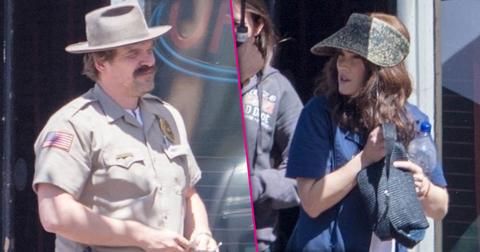 Stranger Things Season 3 Filming Pics PP