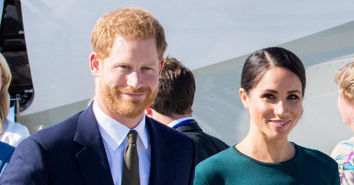 prince harry meghan markle gives birth second child ok pp