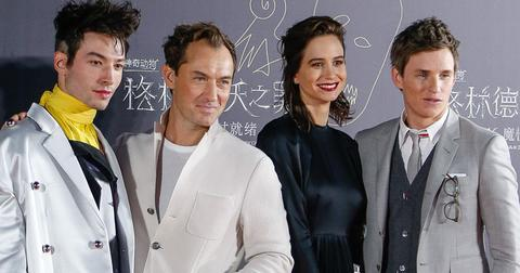 Fantastic beasts premiere post pic
