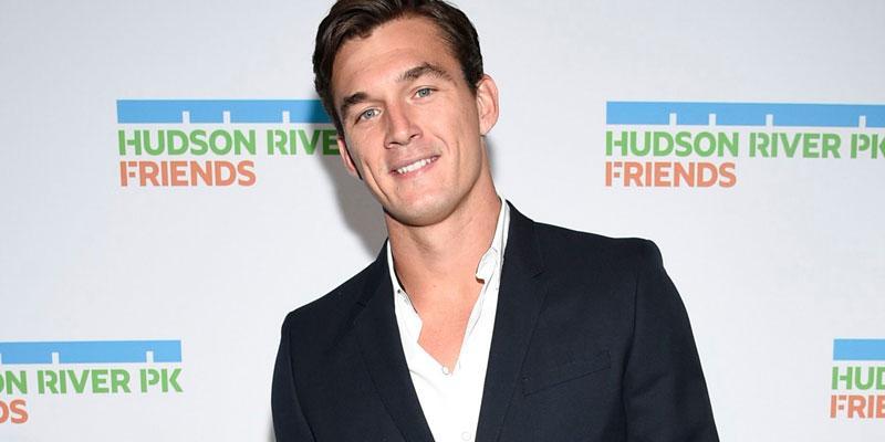 Tyler Cameron Suit Red Carpet Dating Talking Hannah Brown