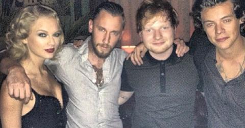 Taylor Swift Ed Sheeran Harry Styles