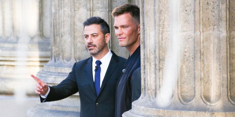 Tom Brady & Jimmy Kimmel