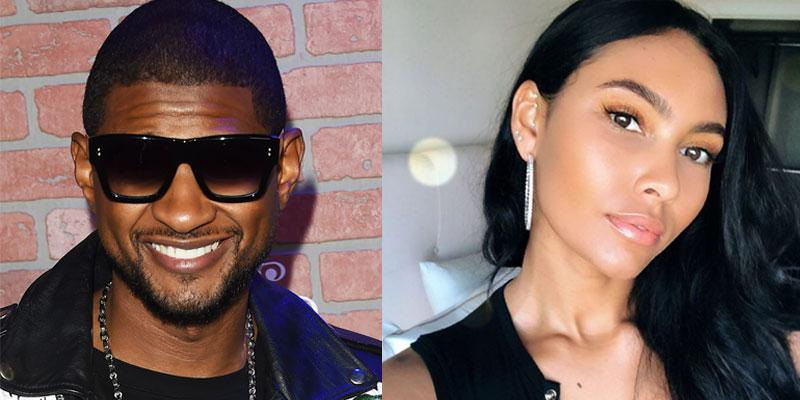 Usher dating Evelyn Lozada daughter