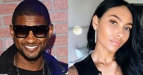 Usher dating Evelyn Lozada daughter
