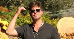 Exclusive… Robin Thicke Out And About In LA