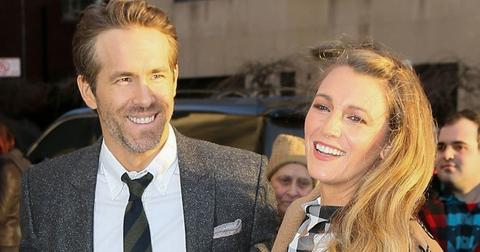 Blake Lively and Ryan Reynolds arrive for the 'Final Portrait' screening