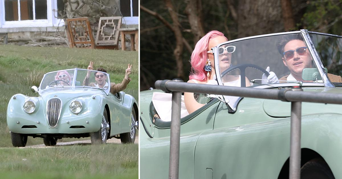 niall horan and anne marie filming music video in essex