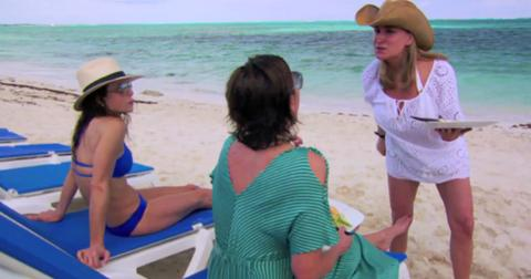 Rhony 100th episode turks and caicos