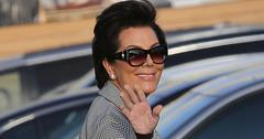 Kris Jenner Arrives With Scott Disick At Nobu