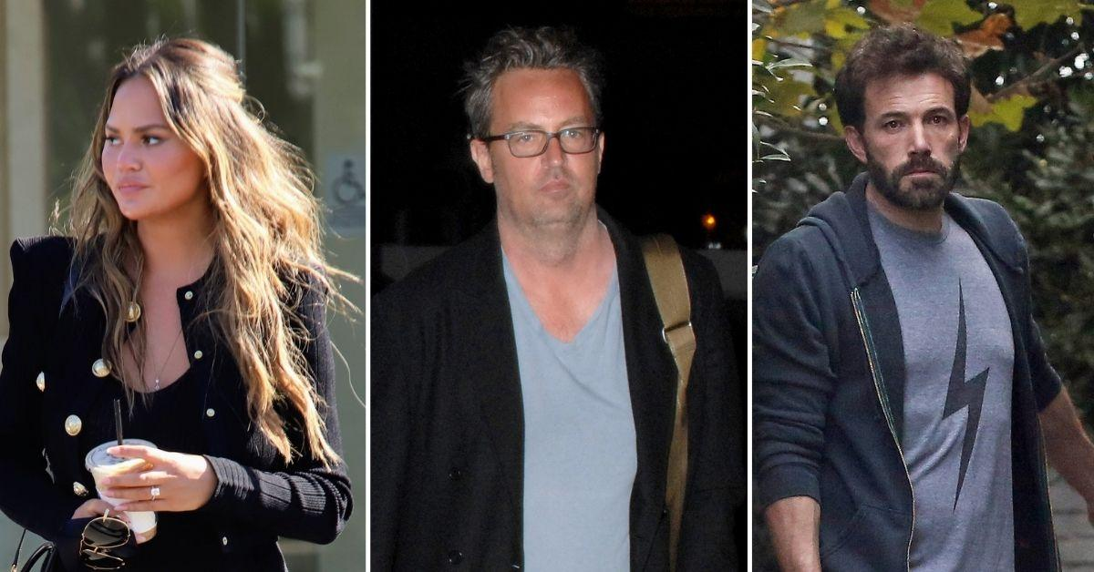 chrissy teigen weighs in ben affleck matthew perry raya tiktok