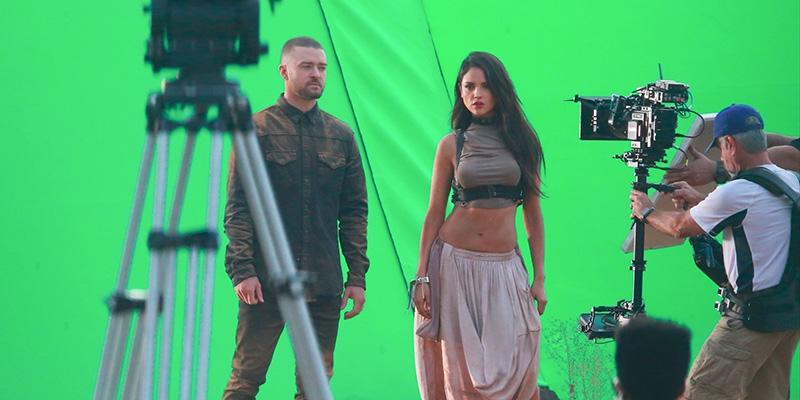 Justin Timberlake Eiza González music video