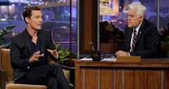 Matthew McConaughey and Jay Leno