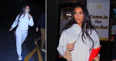 kim kardashian late night mcdonalds run pf