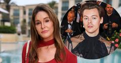 Caitlyn Jenner At Event Harry Styles Inset