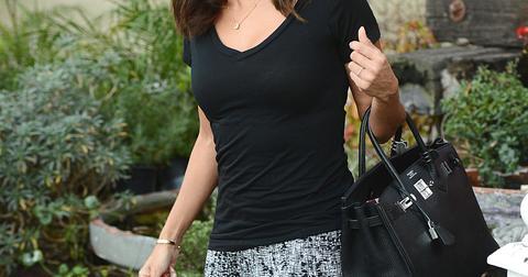 Eva Longoria leaves Ken Paves Salon in West Hollywood, CA