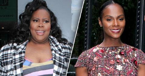 Amber Riley Tika Sumpter