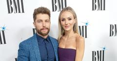 Chris Lane and Lauren Bushnell at the BMI Country Music Awards 2019