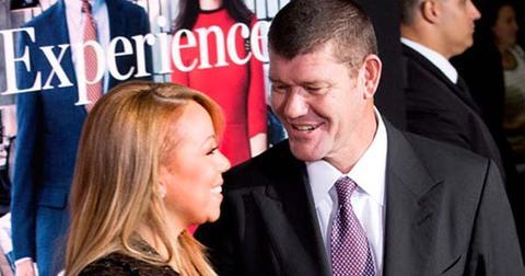 Mariah Carey and new boyfriend James Packer walk the red carpet