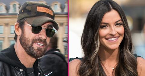 Justin theroux shoot shot at bachelor contestant tia booth hero
