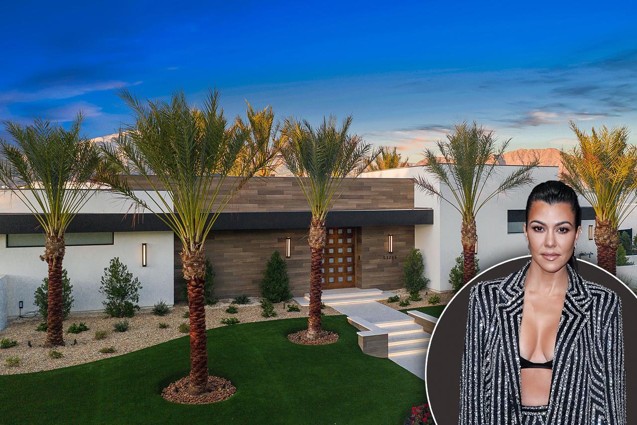 kourtney kardashians new  million dollar desert retreat
