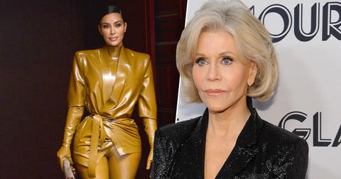 [Jane Fonda] Thinks [Kim Kardashian] Has The 'Most Amazing Behind'