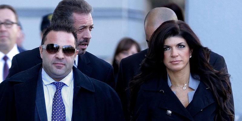 Teresa Giudice And Joe Giudice At Court Divorce
