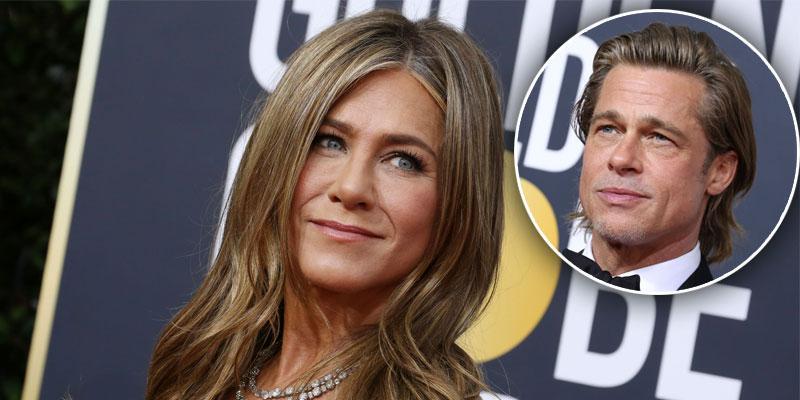 Jennifer Aniston Laughs At Brad Pitt's Joke About His Dating Life