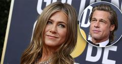 Jennifer Aniston Laughs At Brad Pitt's Joke About His Dating Life