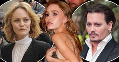 lily rose depp scary skinny partying smoking