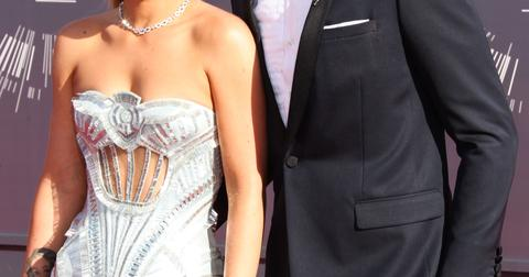 Iggy Azalea and Nick Young arrive at the 2014 MTV Video Music Awards