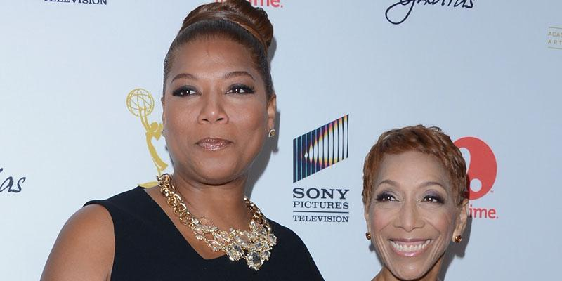Queen latifah mother died