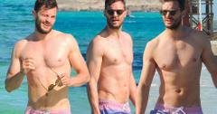 Jamie dorman shirtless beach photos