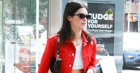 kendall jenner red outfit