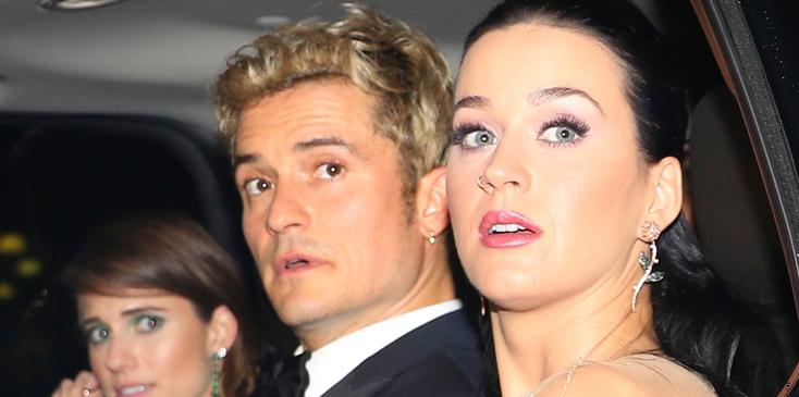 *EXCLUSIVE* Katy Perry and Orlando Bloom going strong at the UNICEF Snowflake Ball