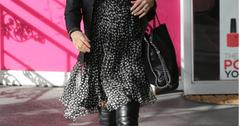 Pregnant Jenna Dewan Tatum Shows Off Growing Baby Bump on Beauty Bar Trip