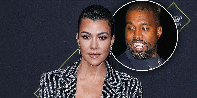 Is Kourtney Kardashian Voting For Kanye West For President? See Photo